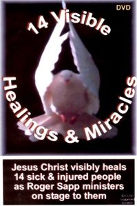 14 Visible Healings & Miracles: DVD