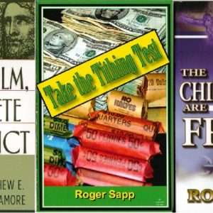 Free from Tithing: 3 books