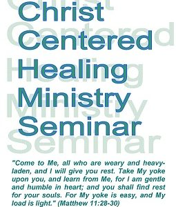 Christ Centered Healing Ministry Seminar: Notebook only