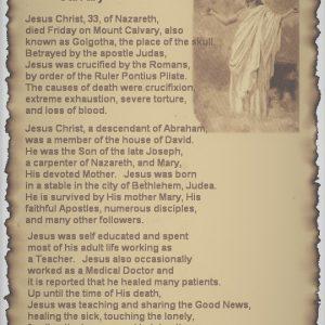 Jesus Obit (pic)
