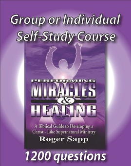 Self-Study Course for Performing Miracles & Healing: WorkBook