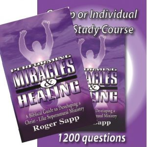Study Set for Performing Miracles & Healing: 2 Books