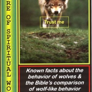 Beware of Spiritual Wolves: Booklet